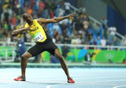 Athletics-Meet Thunder and Saint Leo, sprint king Bolt's newborn twin sons