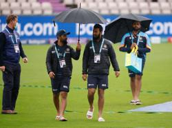 Cricket-Rain delays start on day four of WTC final