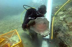 Shipwrecks yield artefacts