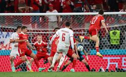 Soccer-Fairytale for Denmark as rout of Russia puts them in last 16