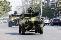 Myanmar army clashes with anti-junta militia in Mandalay city