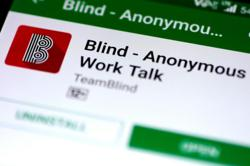 Messaging app helps take off blinders at top-down South Korean chaebol culture