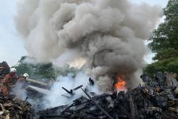Blaze at illegal Pasir Gudang landfill put out within hours