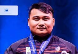 Malaysian powerlifter Bonnie Bunyau Gustin sets new world record