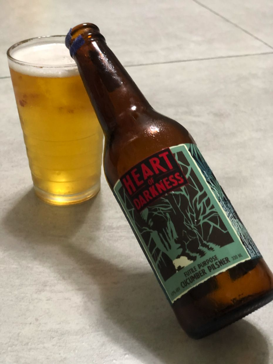 Some craft breweries have come up with their own unique takes on lagers and pilsners, like Vietnam brewery Heart Of Darkness' Futile Purpose Cucumber Pilsner.  — Photo: THE STAR/Michael Cheang