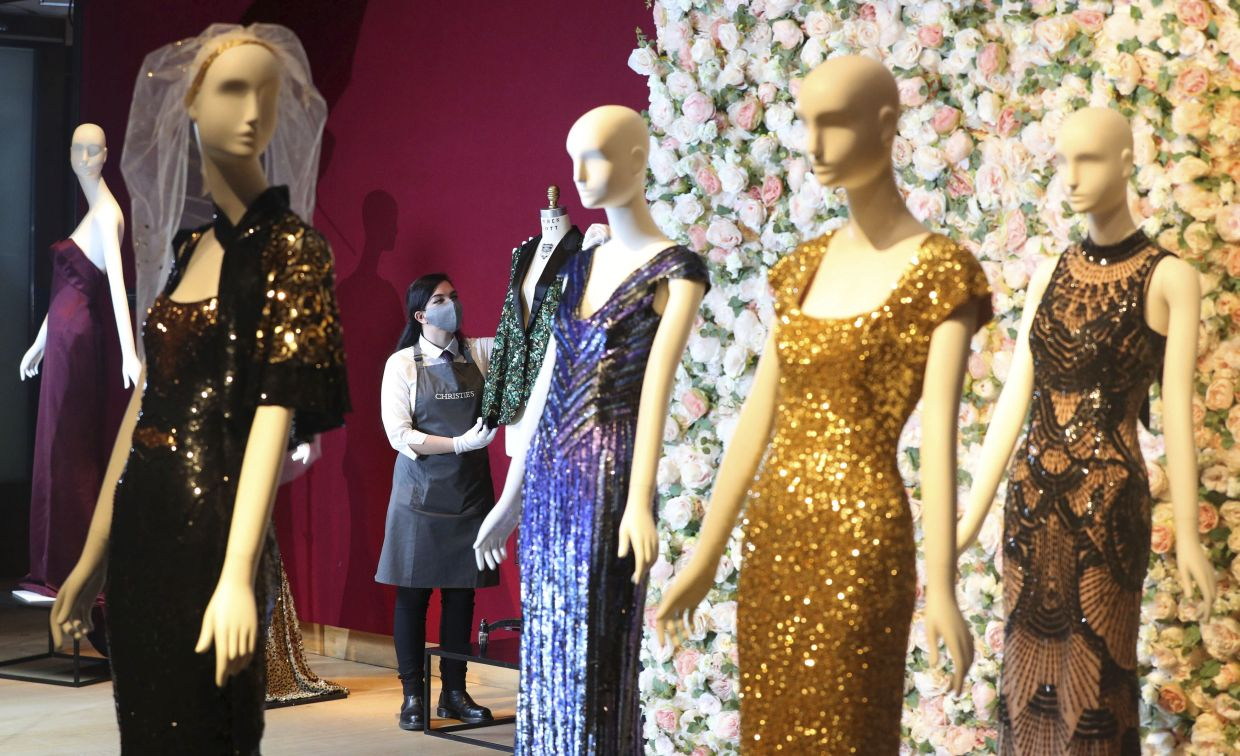 Proceeds will go to the L'Wren Scott MA Fashion Scholarship at Central Saint Martins, set up by Jagger in 2015. Photo: AP