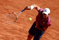 Thiem retires injured from Wimbledon warmup event in Mallorca