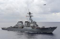 China condemns latest US warship transit of Taiwan Strait