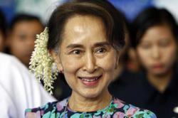 Myanmar's Suu Kyi back in junta court on sedition charges