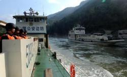 Laos, Myanmar, Thailand and China begin Mekong River patrol