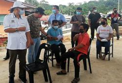 Covid-19 vaccination drive gaining momentum in Sabah's remote areas