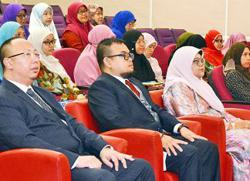 Widen knowledge, exchange experiences, Brunei youth told