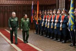 Russia promises to boost military ties with Myanmar as junta leader visits