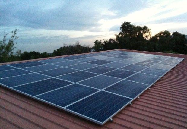 Pekat's solar panels