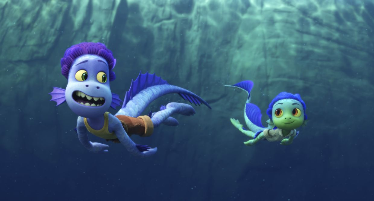 'Luca' revolves around two sea monsters chasing their dream of exploring the surface world.