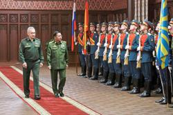 Russian boost to army lauded
