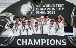 Cricket-'Best ever', Hadlee hails New Zealand's test world champions
