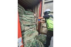 Maqis seize sixteen containers of dried coconut from Papua New Guinea worth almost RM800,000 in Pasir Gudang
