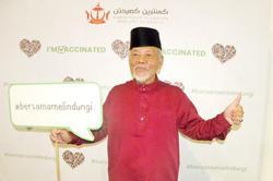 Get vaccinated, elderly in Brunei urge youth