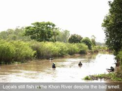Lao fishermen seek solution to river pollution