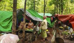 UN humanitarian agency says 230, 000 displaced in Myanmar this year