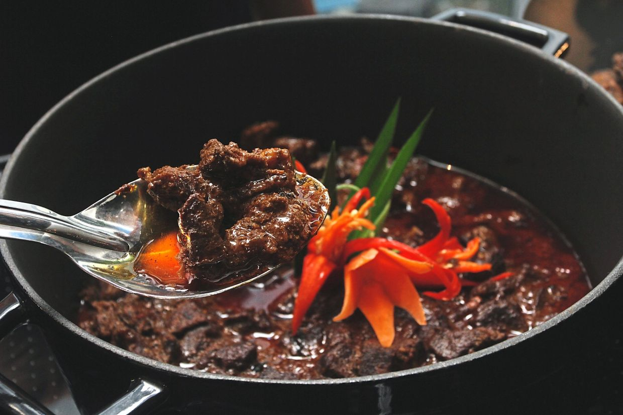 Malaysian beef rendang can be promoted to Muslim tourists. — SHAARI CHEMAT/The Star