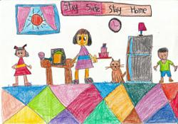 Starchild: Malaysian kids share ideas on how to stay safe at home