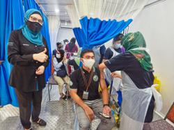 Mobile truck initiative sees vaccination of 600 workers