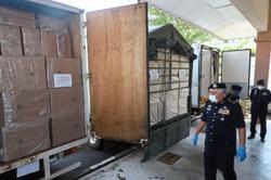 Illicit cigarettes worth RM13.86mil seized