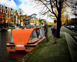 Autonomous electric boats will soon be cruising Amsterdams canals