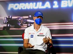 Motor racing-Mick Schumacher is sitting crooked in his car