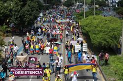 Colombia union leader vows bigger antigovernment protests if demands not met