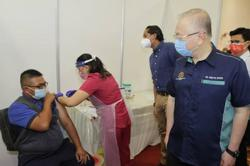 Vaccination drive for 51,500 frontliners in transportation sector kicks off at Port Klang on Friday (June 25)