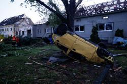 Rare tornado, storms rip through southern Czech Republic, killing three