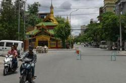Myanmar security forces seize arms cache near Mandalay