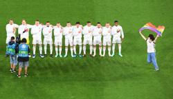 Soccer-UEFA probes discrimination during Germany v Hungary Euro 2020 game