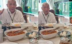FB user claims pics of Bung at table with turtle eggs edited by irresponsible parties
