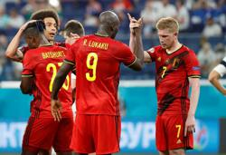 Soccer-Early reckoning for top-ranked Belgium against holders Portugal