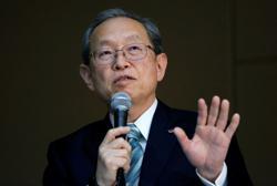 Toshiba appoints CEO Tsunakawa as interim board chairman