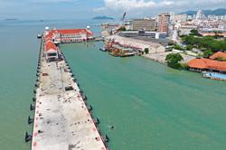Phase 1A of Penang cruise terminal expansion completed