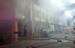Top floor of Puncak Alam shoplot destroyed in fire