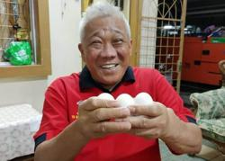 Warisan veep wants full probe of 'egg' dish on Bung's dining table