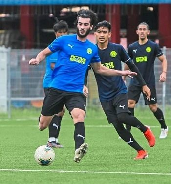 The players in action during a training session in early January. — Photo courtesy of Penang FC