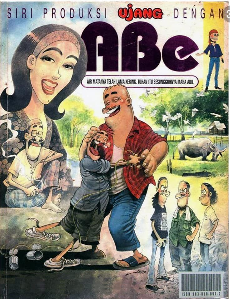Aie's early breakthrough arrived when he worked with cartoonist/writer Ujang on the heartwarming 'Abe' series. Photo: Handout