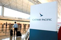 Cathay Pacific forecasts reduced monthly cash burn