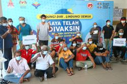 About 100 in KL get vaccinated under phase two of MyMedic@Wilayah programme