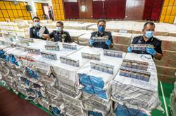 Police smoke out contraband syndicate