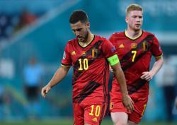 Soccer-De Bruyne, Hazard in doubt for Belgium's Euro 2020 quarter-final