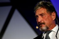 Autopsy shows John McAfee died by suicide in Spanish prison cell, newspaper reports