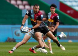Rugby-Four Harlequins players get England call